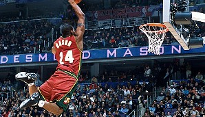 2001 in Washington: Desmond Mason (Seattle SuperSonics)