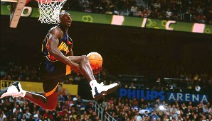 2002 in Philadelphia, 2003 in Atlanta: Jason Richardson (Golden State Warriors)