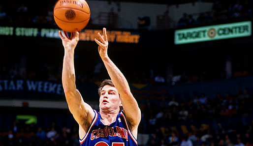 1993 in Salt Lake City, 1994 in Minneapolis: Mark Price (Cleveland Cavaliers), 18 & 24 Punkte im Finale