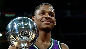2001 in Washington: Ray Allen (Milwaukee Bucks), 19 Punkte im Finale