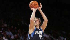 2006 in Houston: Dirk Nowitzki (Dallas Mavericks), 18 Punkte im Finale