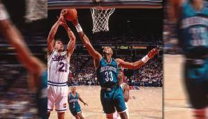 Platz 18: Alonzo Mourning - 215 Blocks in 95 Spielen - Charlotte Hornets, Miami Heat