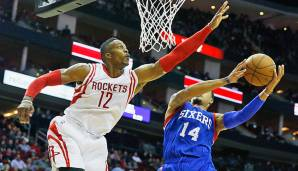 Platz 12: Dwight Howard - 229 Blocks in 89 Spielen - Orlando Magic, Los Angeles Lakers, Houston Rockets (Stand 30. April 2016)