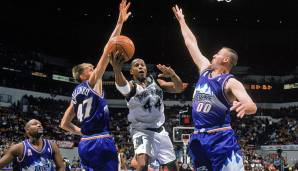 Platz 27: Greg Ostertag - 165 Blocks in 89 Spielen - Utah Jazz, Sacramento Kings