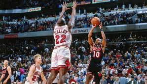 Platz 30: John Salley - 159 Blocks in 134 Spielen - Detroit Pistons, Miami Heat, Chicago Bulls, Los Angeles Lakers