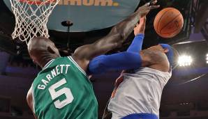 Platz 21: Kevin Garnett - 186 Blocks in 143 Spielen - Minnesota Timberwolves, Boston Celtics, Brooklyn Nets (Stand 30. April 2016)
