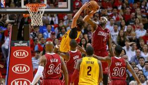 Platz 21: LeBron James - 164 Blocks in 199 Spielen - Miami Heat, Cleveland Cavaliers