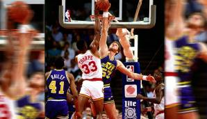 Platz 19: Mark Eaton - 210 Blocks in 74 Spielen - Utah Jazz