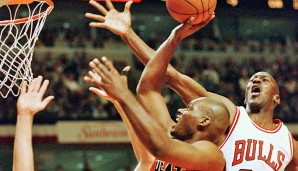 Platz 31: Michael Jordan - 158 Blocks in 179 Spielen - Chicago Bulls