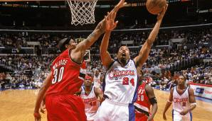 Platz 13: Rasheed Wallace - 225 Blocks in 177 Spielen - Portland Trail Blazers, Detroit Pistons, Boston Celtics