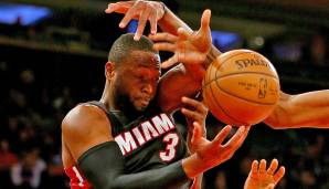 PLATZ 11: Dwyane Wade - 3.814 Punkte in 168 Spielen - Miami Heat (Stand: 21. April 2017)