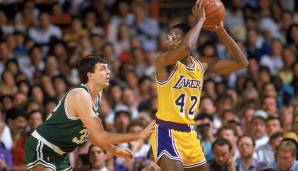 PLATZ 23: James Worthy - 3.022 Punkte in 143 Spielen - Los Angeles Lakers
