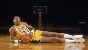 PLATZ 2: Kareem Abdul-Jabbar - 5.762 Punkte in 237 Spielen - Milwaukee Bucks, Los Angeles Lakers
