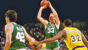 PLATZ 9: Larry Bird - 3.897 Punkte in 164 Spielen - Boston Celtics