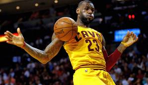 PLATZ 3: LeBron James - 5.670 Punkte in 202 Spielen - Cleveland Cavaliers, Miami Heat (Stand: 21. April 2017)