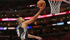 PLATZ 9: Tony Parker - 3.918 Punkte in 215 Spielen - San Antonio Spurs (Stand 18. April 2017)
