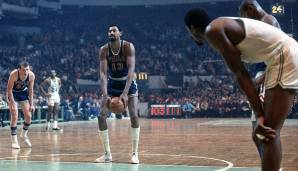 PLATZ 18: Wilt Chamberlain - 3.607 Punkte in 160 Spielen - Philadelphia und San Francisco Warriors, Philadelphia 76ers, Los Angeles Lakers