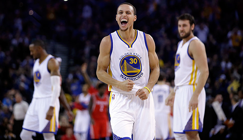 PLATZ 6: Golden State Warriors. Saison 2014-15, Bilanz: 67-15 - Meister: Golden State Warriors gegen Cleveland Cavaliers (4-2)