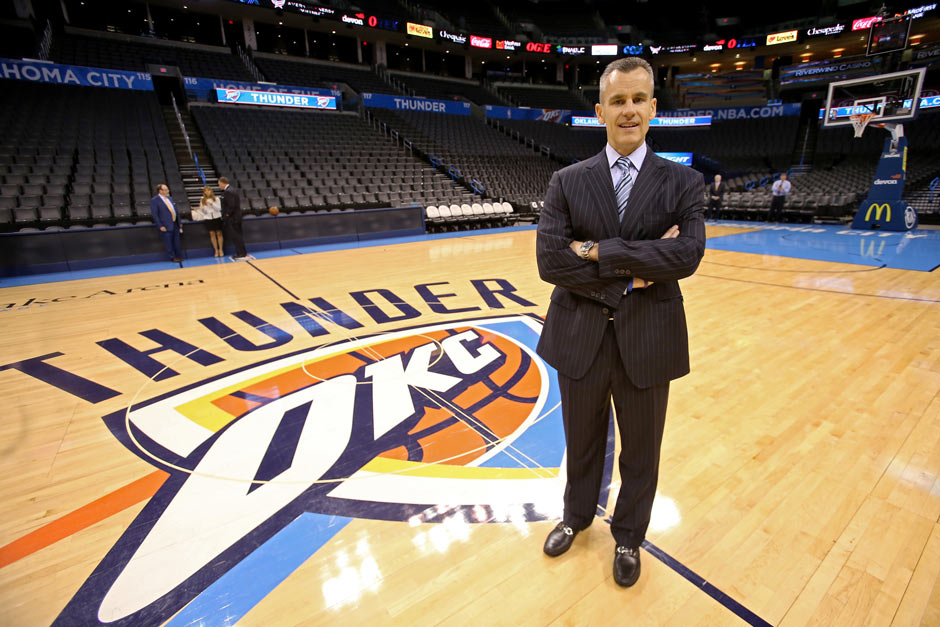 Billy Donovan (Oklahoma City Thunder, seit 1. Mai 2015)