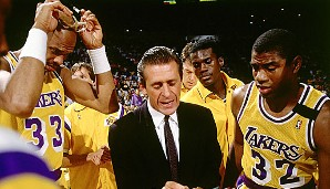 1989/90: Pat Riley, Los Angeles Lakers