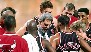 1995/96: Phil Jackson, Chicago Bulls