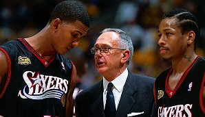 2000/01: Larry Brown, Philadelphia Sixers