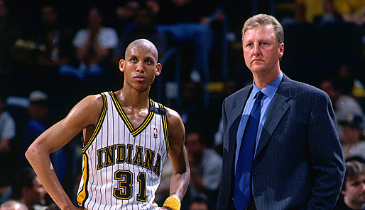 1997/98: Larry Bird, Indiana Pacers