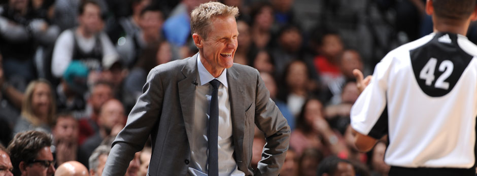 2015/16: Steve Kerr, Golden State Warriors