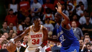1995: Houston Rockets (4-0 gegen Orlando Magic). Finals MVP: Hakeem Olajuwon