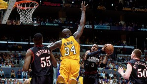 2001: L.A. Lakers (4-1 gegen Philadelphia 76ers). Finals MVP: Shaquille O'Neal