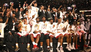 2013: Miami Heat (4-3 gegen San Antonio Spurs). Finals MVP: LeBron James
