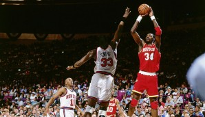 1994: Houston Rockets (4-3 gegen New York Knicks). Finals MVP: Hakeem Olajuwon