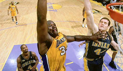 2000: L.A. Lakers (4-2 gegen Indiana Pacers). Finals MVP: Shaquille O'Neal