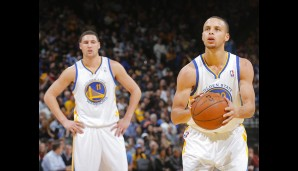 Rang 7: Golden State Warriors - Wert: 1,3 Mrd. Dollar, Umsatz: 168 Mio. Dollar, Gewinn: 45 Mio. Dollar