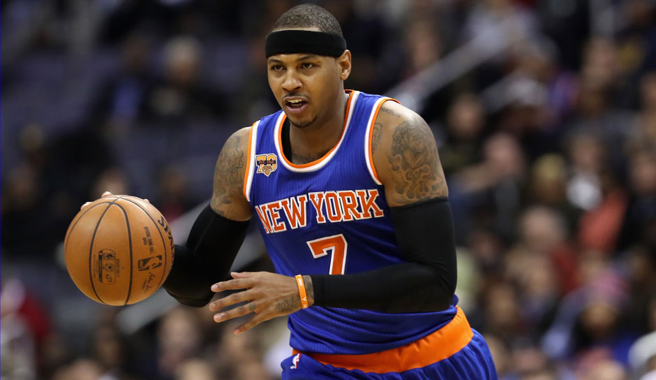 Carmelo Anthony (Knicks): 56,5 Punkte