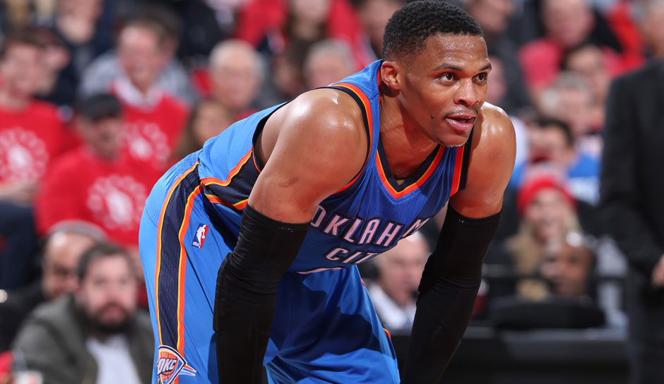 Russell Westbrook (Oklahoma City Thunder): 83 Punkte