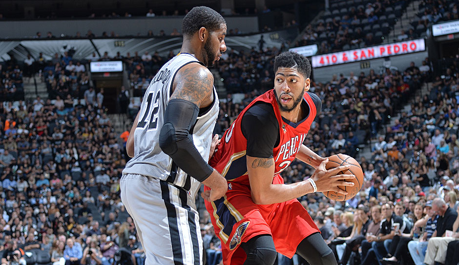 Anthony Davis (New Orleans Pelicans): 57,5 Punkte