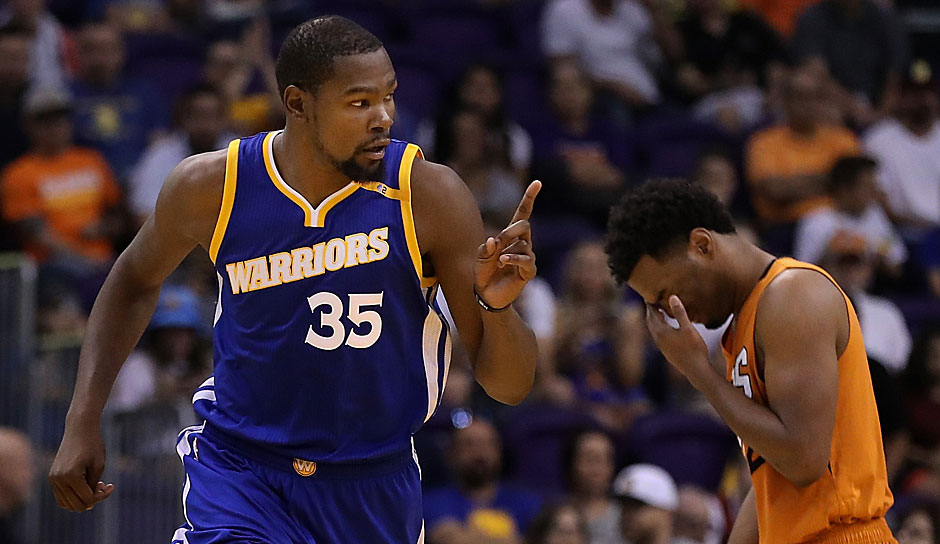 Kevin Durant (Golden State Warriors): 58 Punkte