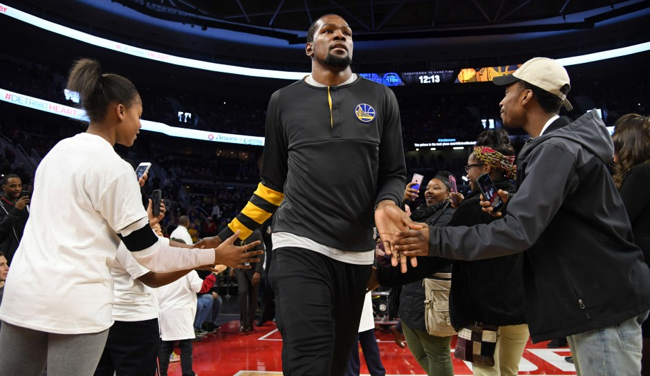Kevin Durant (Golden State Warriors): 48 Punkte