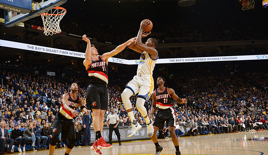 Kevin Durant (Golden State Warriors) - 42,5 Punkte