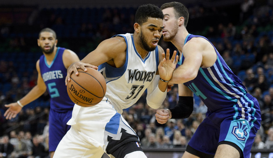 Karl-Anthony Towns (Minnesota Timberwolves): 57,8 Punkte