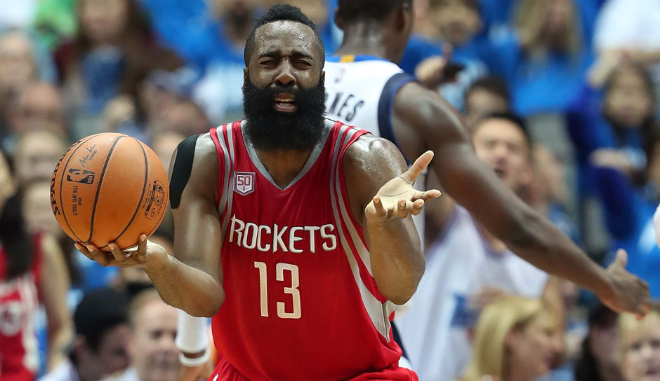 James Harden (Houston Rockets): 62,8 Punkte