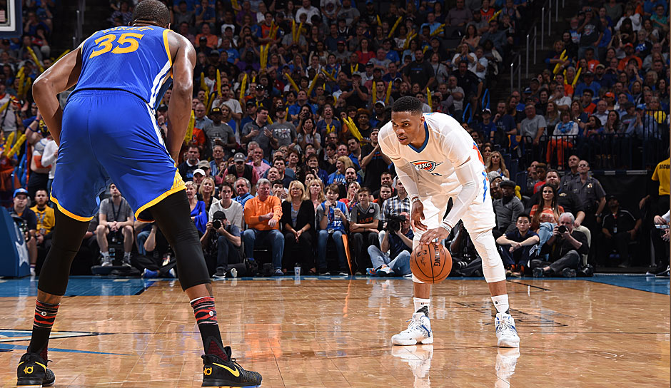 Russell Westbrook (Oklahoma City Thunder): 61,2 Punkte
