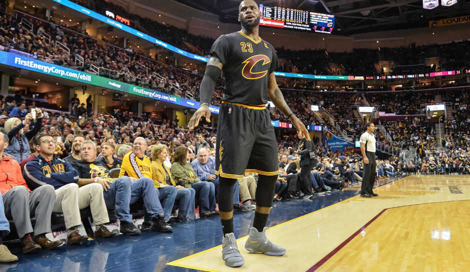 LeBron James (Cleveland Cavaliers): 52,8 Punkte