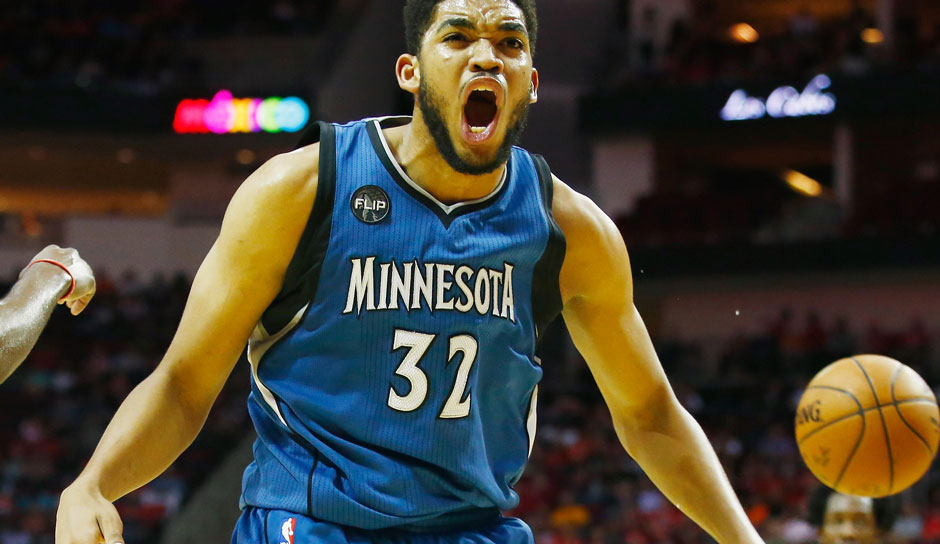 Karl-Anthony Towns (Minnesota Timberwolves): 44,8 Punkte