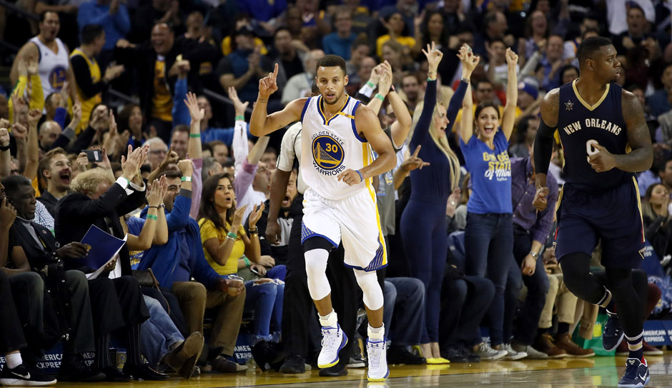 Stephen Curry (Golden State Warriors): 49,2 Punkte