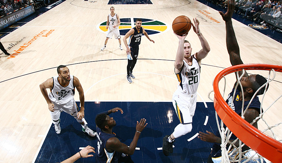 Gordon Hayward (Utah Jazz): 40,5 Punkte