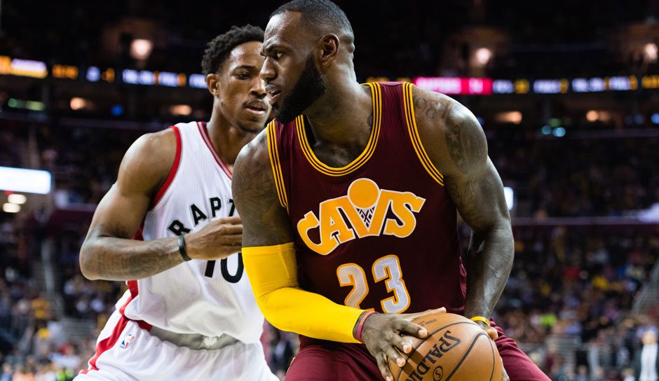 LeBron James (Cleveland Cavaliers): 52 Punkte