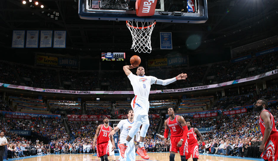 Russell Westbrook (47,8 Punkte)