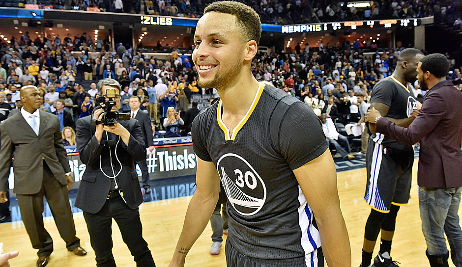 Stephen Curry: 40 Punkte